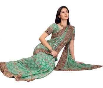 Designer Indian Sari SimSim 7004 B