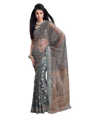 Designer Indian Sari SimSim 7006 A