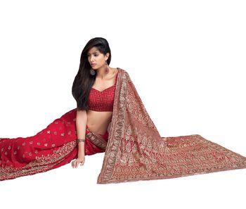 Designer Indian Sari SimSim 7008 A