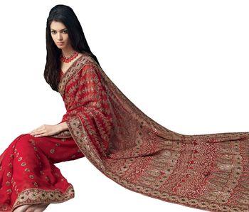 Designer Indian Sari SimSim 7008 B