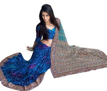 Designer Indian Sari SimSim 7009 B