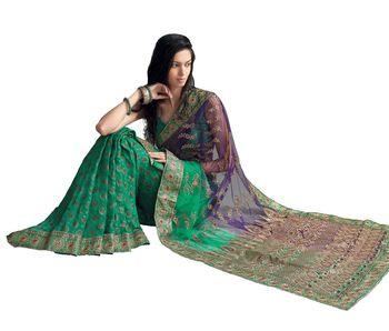 Designer Indian Sari SimSim 7010 B