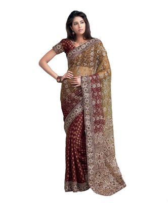 Designer Indian Sari SimSim 7012 A