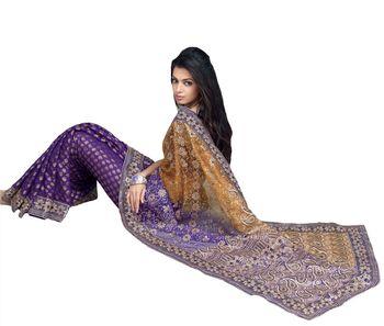 Designer Indian Sari SimSim 7012 B