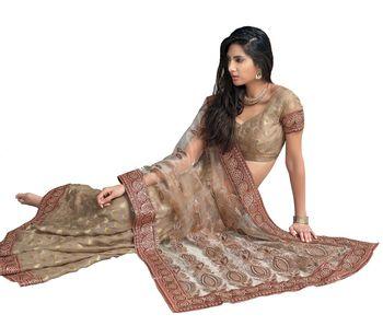Designer Indian Sari SimSim 7014 B
