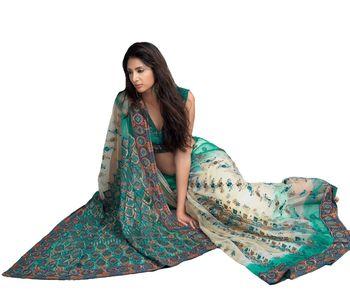 Designer Indian Sari SimSim 7015 B