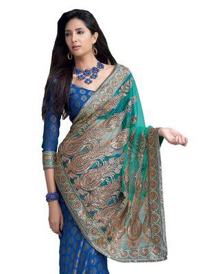 Designer Indian Sari SimSim 7016 A