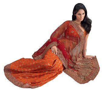 Designer Indian Sari SimSim 7016 B