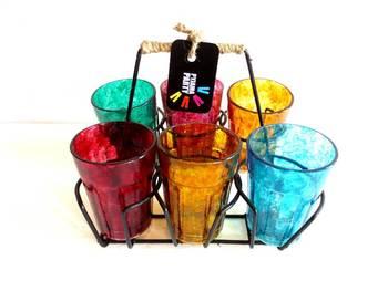 Quirky kitsch cutting chai sets-Textured