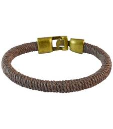 Buy Men  Thread Bracelet Brown color for Everyday wear birthday-gift online