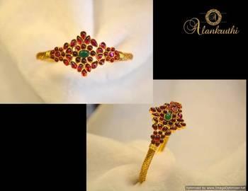 Temple Jewellery - Flexible Kadas 6
