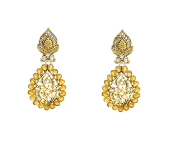 Awesome Yellow Earrings