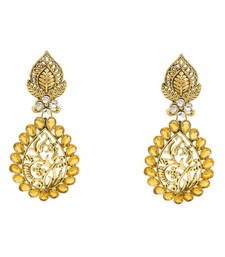 Buy Awesome Yellow Earrings fashion-deal online