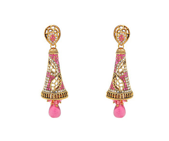Cute Pink Designer Earrings