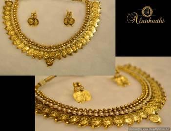 Alankruthi Traditional Necklace Set 1