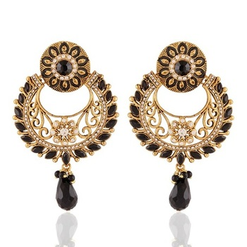 Gracefull Gold Plated Jewellery Earrings For Women