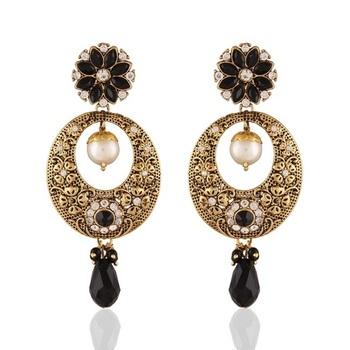 Dazzling Gold Plated Jewellery Earrings For Women