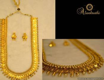 Long Traditional Necklace Set 1