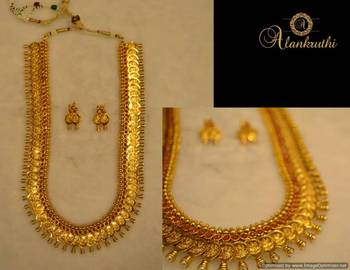 Long Traditional Necklace Set 3