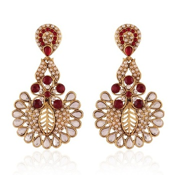Elegent  Gold Plated Jewellery Earrings For Women