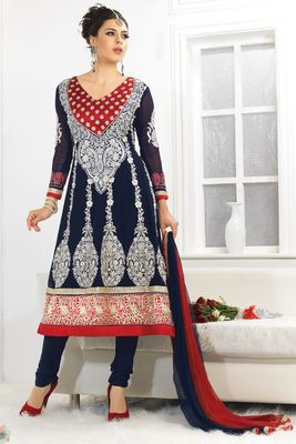 Party Wear Dress Material Fairy1101