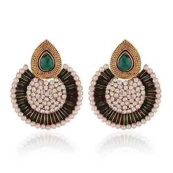 Moddish Gold Plated Jewellery Earrings For Women