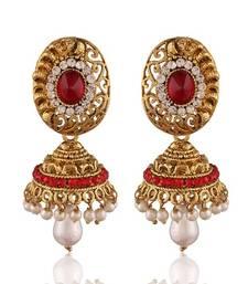 Sleek Gold Plated Jewellery Earrings For Women
