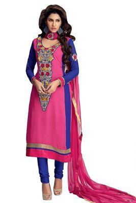Party Wear Dress Material Upvan754