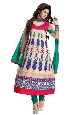 Party Wear Dress Material Upvan756