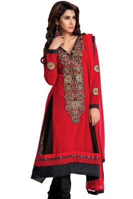 Party Wear Dress Material Upvan757