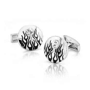 Mahi Fiery Liana Cufflinks with Swarovski Elements