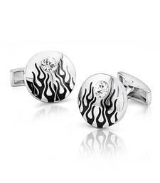 Mahi Fiery Liana Cufflinks with Swarovski Elements