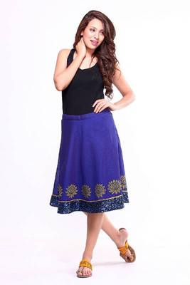 Ethnic A-line Skirt