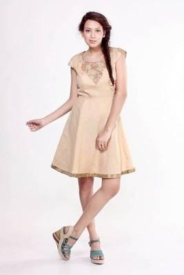 Ethnic Fusion A-line Dress
