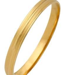 Buy 22k gold plated sand punjabi sardarji sikkh kada bangle bracelet bangles-and-bracelet online