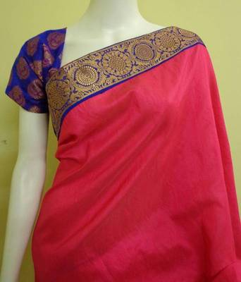 Rani pink n royal blue