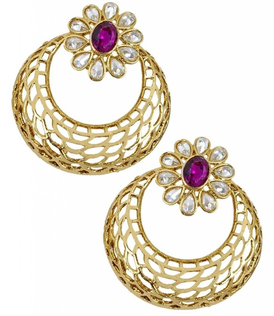 studs gold designer stud ad antique jewellery temple