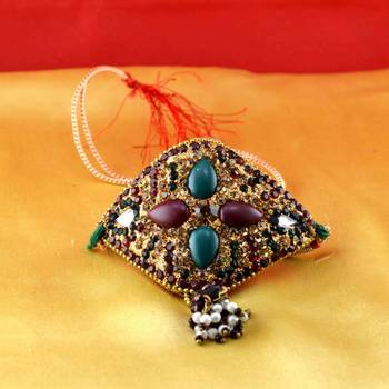 rajasthani bajubandh gold platted stone meenakari cz ad moti pearl polki kundun