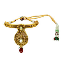 Buy Beautiful Gold Bajuband for women bajuband online