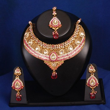 Unique Bollywood Bridal Necklace Set