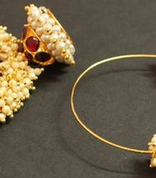 BEAUTIFUL HOOP PEARL JHUMKKA shop online
