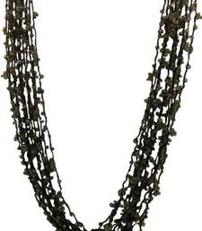 Buy CROCHET GLASS BEADS NECKLACE Necklace online