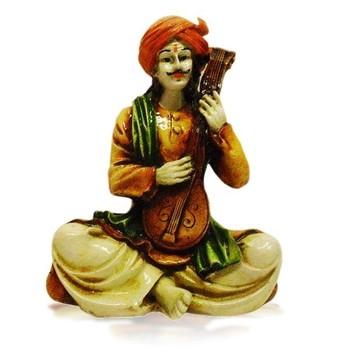 Rajasthani Man Playing Sitar