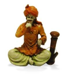 Buy Rajasthani Man with Hukka gifts-for-husband online