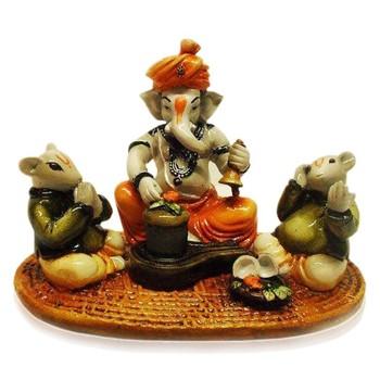 Ganesha Worshipping Lord Shiva