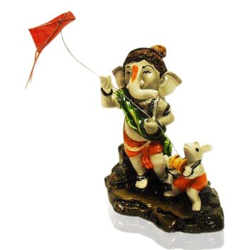 Ganesha Flying Kite