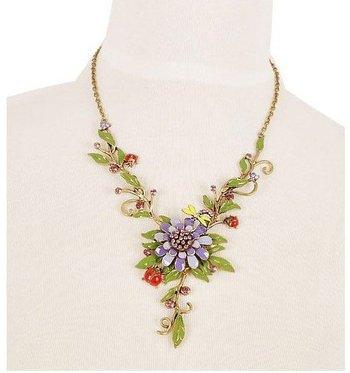 Flower Vine necklace