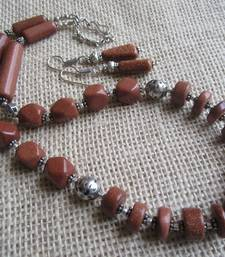 Buy Ethnic beaded necklace necklace-set online