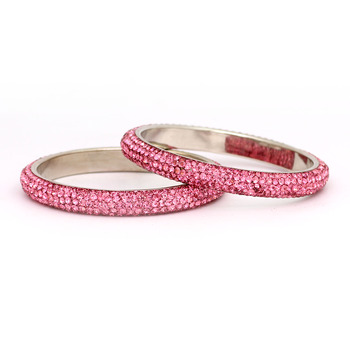 High Quality Pink Gold Alloy  Bangle