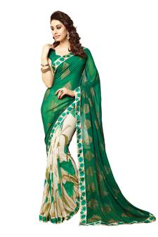 850021e944 Georgette Sarees Online | Buy Pure Georgette Sarees with Zari Border ...